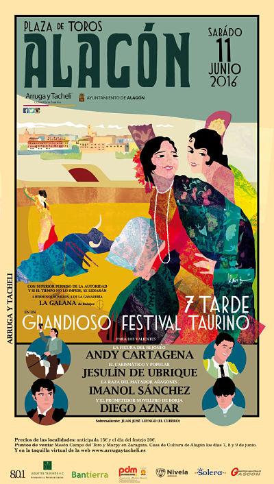 festival  taurino alagon 2016