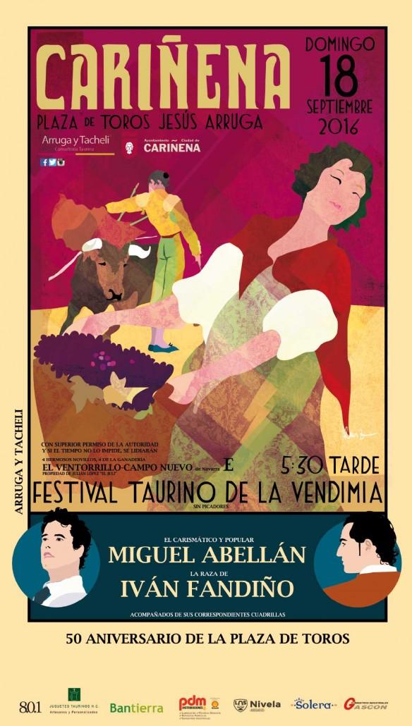 Festival-Taurino-Vendimia-Cariñena-Redes